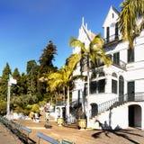 Monte宫殿热带庭院,丰沙尔,马德拉岛,葡萄牙 库存照片