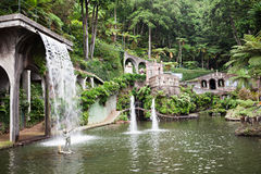 Monte宫殿Tropican庭院 库存图片
