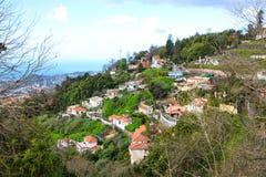 Monte,马德拉岛,葡萄牙 库存照片