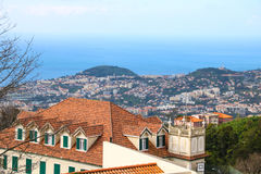 Monte,马德拉岛,葡萄牙 免版税库存图片