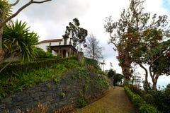Monte,马德拉岛,葡萄牙 免版税库存照片