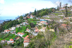 Monte,马德拉岛,葡萄牙 库存图片