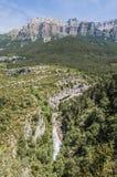 monte εθνικό perdido Ισπανία Υ πάρκων ordesa Στοκ Εικόνα