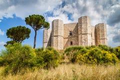 monte Италии del castel apulia Стоковые Изображения