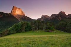 Monte Aiguille Royalty-vrije Stock Afbeelding