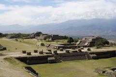 Monte Albán - México Imagen de archivo