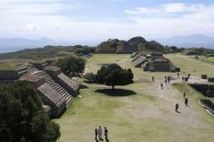 Monte Albán - México Fotografía de archivo libre de regalías