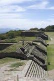 Monte Albán - México Fotos de archivo