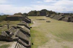 Monte Albán - México Fotos de archivo libres de regalías