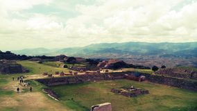 Monte Albán royalty free stock images