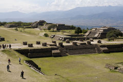 Monte Albán - mexico Stock Photography