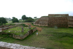 Monte alban. City royalty free stock photography