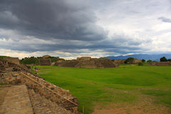 Monte Alban Royalty Free Stock Image