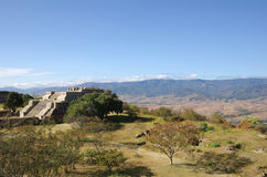 Monte Alban Royalty-vrije Stock Foto's