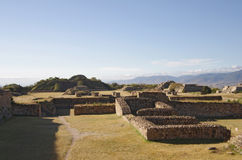 Monte Alban Royalty-vrije Stock Foto