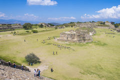 Monte Alban Images stock