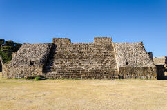 Monte Alban archaeological site Royalty Free Stock Photo
