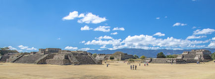 Monte Alban Archaeological site Oaxaca Mexico Stock Photography