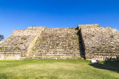 Monte Alban Archeological miejsce fotografia royalty free
