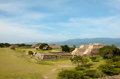 MONTE ALBAN III Stock Photography