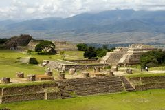Monte Alban IV Royalty Free Stock Image