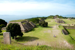 Monte Alban IV Image stock