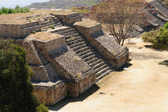Monte Alban Mayan ruins in Mexico Stock Images