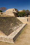 Monte Alban Mayan ruins in Mexico Royalty Free Stock Photos
