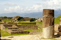 Monte Alban mim Foto de Stock Royalty Free