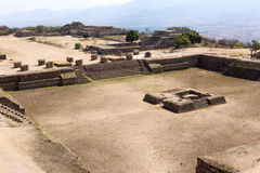Monte Alban Mixtec fördärvar Arkivbilder