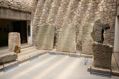 Monte Alban Museum Images stock