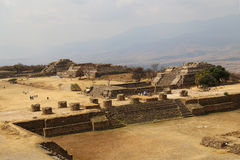 Monte Alban, Oaxaca, Mexique Photographie stock
