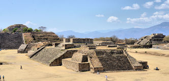 Monte Alban Pyramids Photos stock