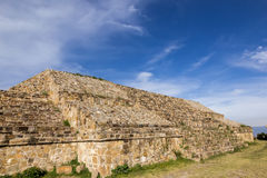 Monte Alban Pyramids Stock Photo