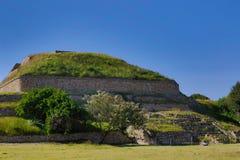 Monte Alban Ruins Στοκ εικόνα με δικαίωμα ελεύθερης χρήσης