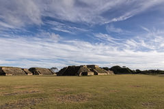 Monte Alban Ruins Image stock