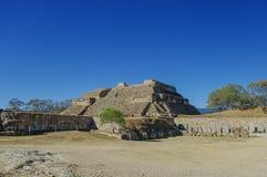 Monte Alban - the ruins of the Zapotec civilization in Oaxaca, M Stock Photo