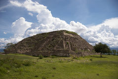 Monte Alban Stock Image