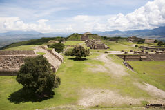 Monte Alban Royalty Free Stock Photo