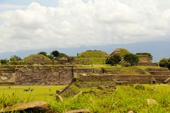 Monte Alban V Stock Photo