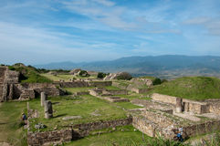 MONTE ALBAN VI Stock Photo