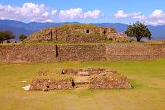 Monte alban XIV Arkivfoton