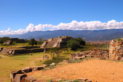 Monte Alban XVI Photographie stock