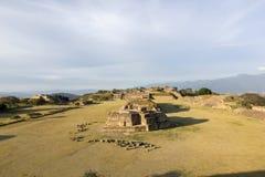 Monte Alban, Zapotec-Ruinen Stockfotografie