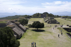 Monte Albán - mexico Royalty Free Stock Photography