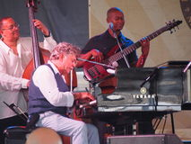 Monte Alexander at Newport Jazz Festival Royalty Free Stock Photography