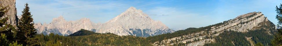 Monte Antelao, Południowy Tirol, dolomit góry, Włochy Obraz Royalty Free