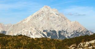 Monte Antelao, Tirolo del sud, montagne delle dolomia, Italia Fotografie Stock