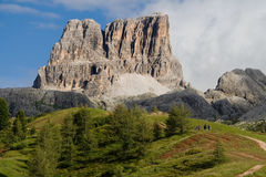 Monte Averau Royalty Free Stock Image