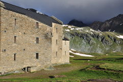 Monte Avic Natural Park, Kirche Aosta, Italien Lizenzfreies Stockfoto